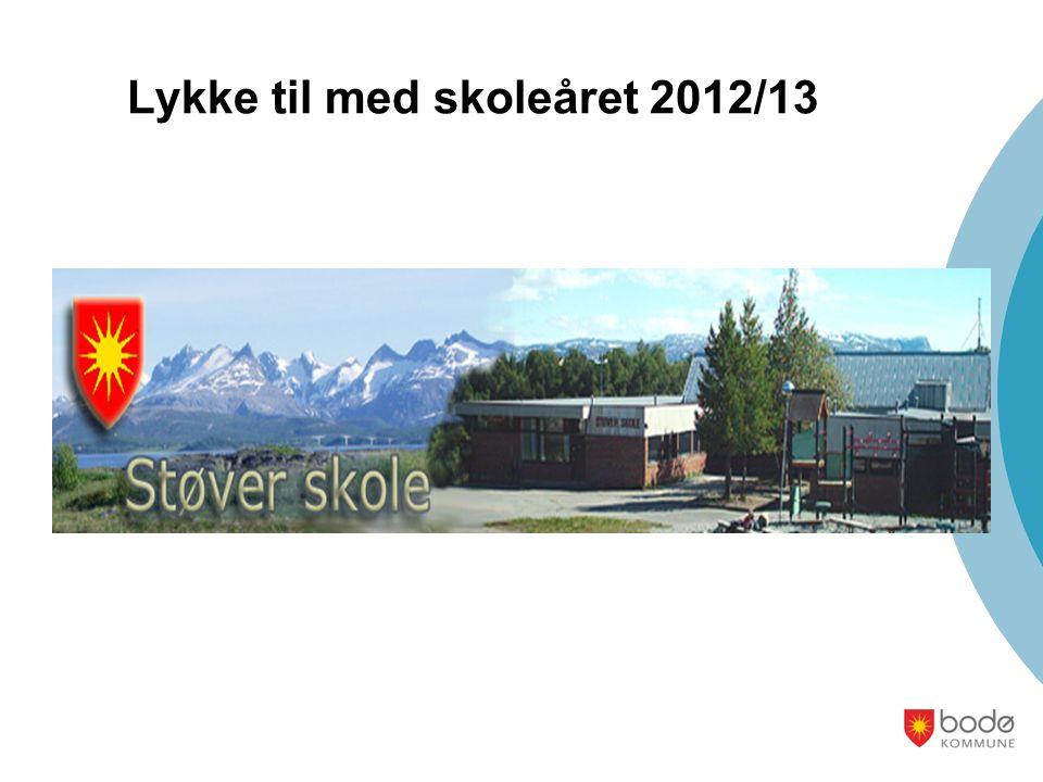 Lykke til med skoleåret 2012/13
