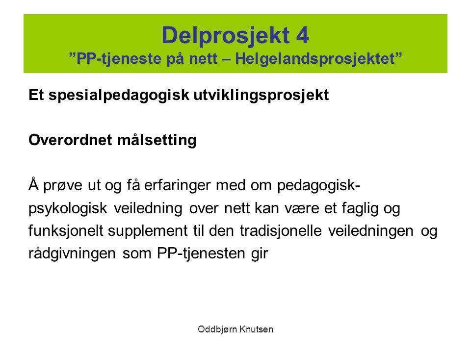 Delprosjekt 4 PP-tjeneste på nett – Helgelandsprosjektet