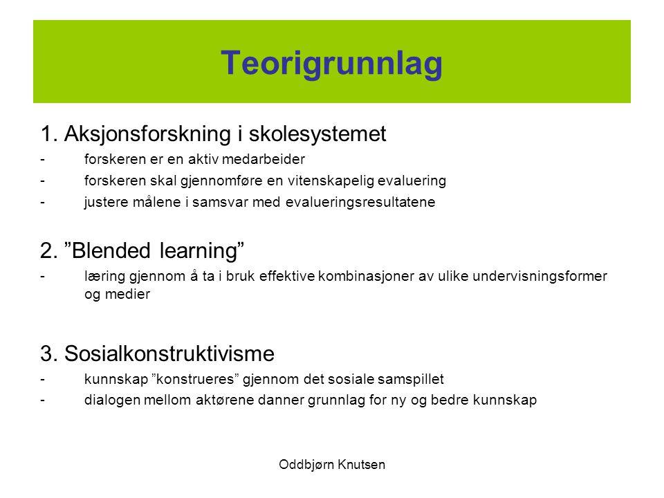 Teorigrunnlag 1. Aksjonsforskning i skolesystemet