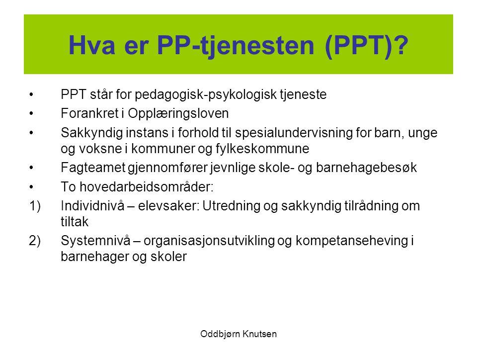 Hva er PP-tjenesten (PPT)