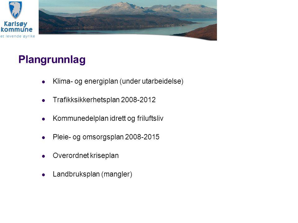 Plangrunnlag Klima- og energiplan (under utarbeidelse)