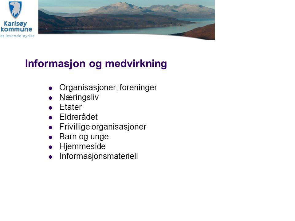 Informasjon og medvirkning