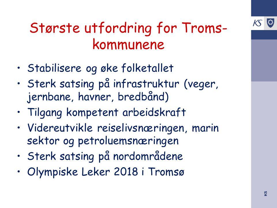 Største utfordring for Troms-kommunene
