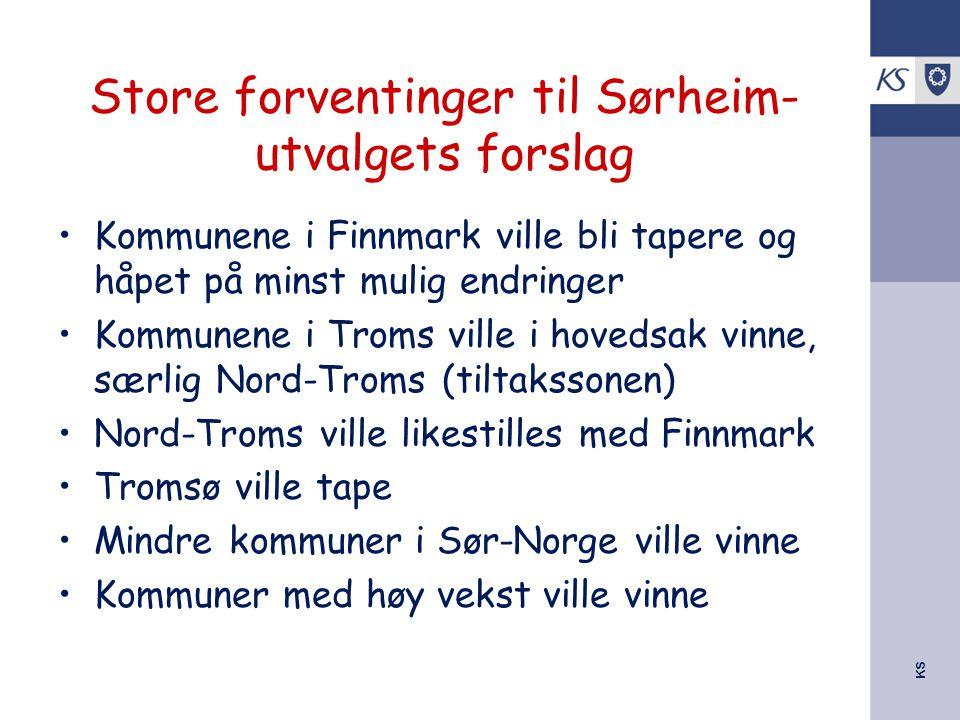 Store forventinger til Sørheim-utvalgets forslag