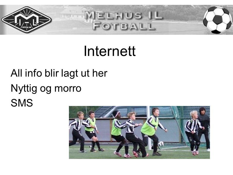 Internett All info blir lagt ut her Nyttig og morro SMS