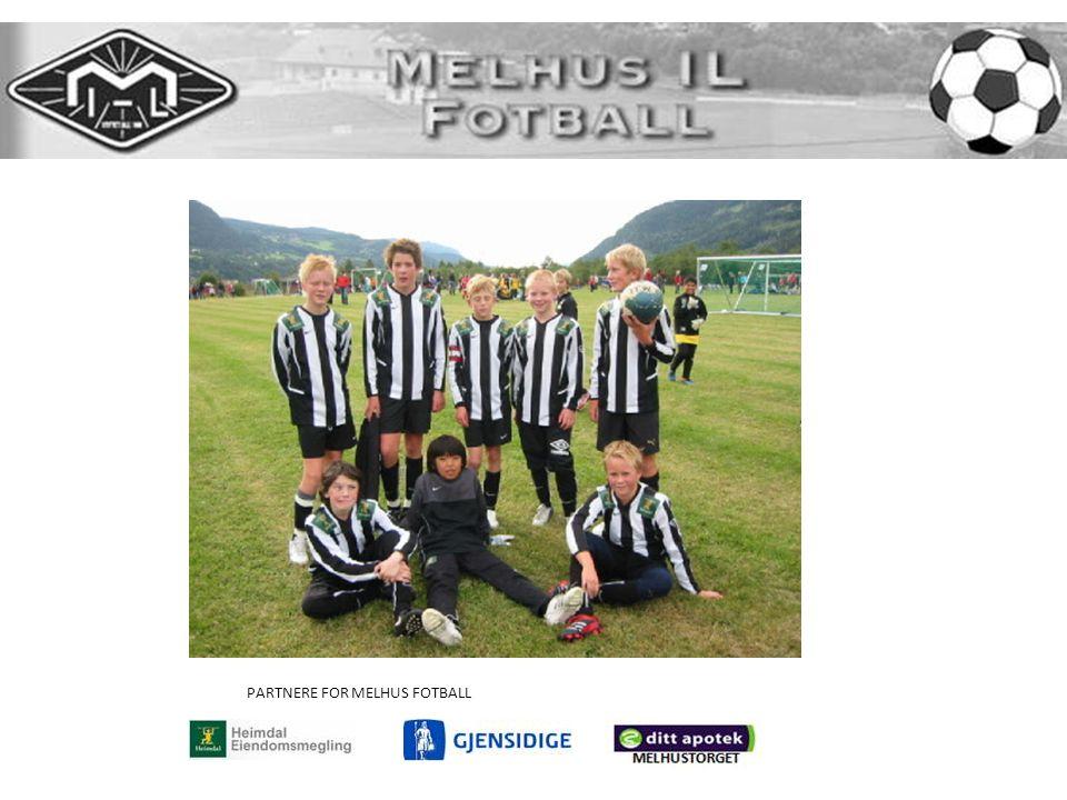 PARTNERE FOR MELHUS FOTBALL
