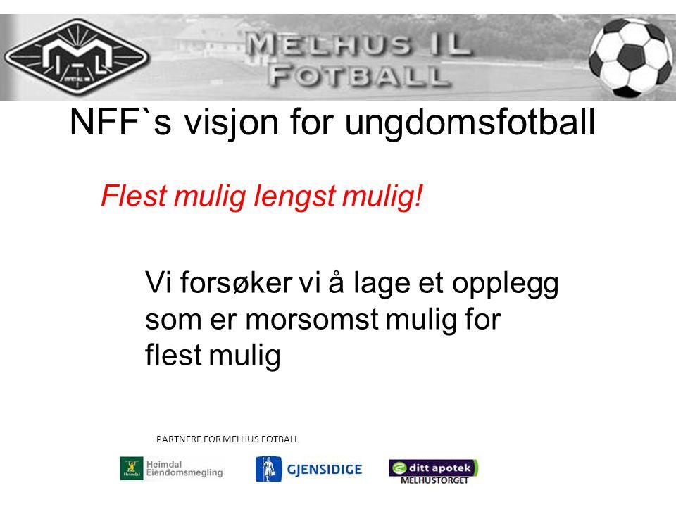 NFF`s visjon for ungdomsfotball