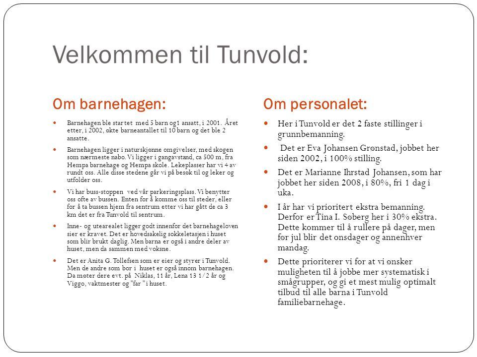 Velkommen til Tunvold: