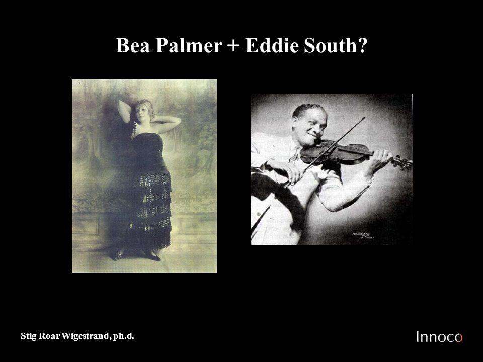 Bea Palmer + Eddie South