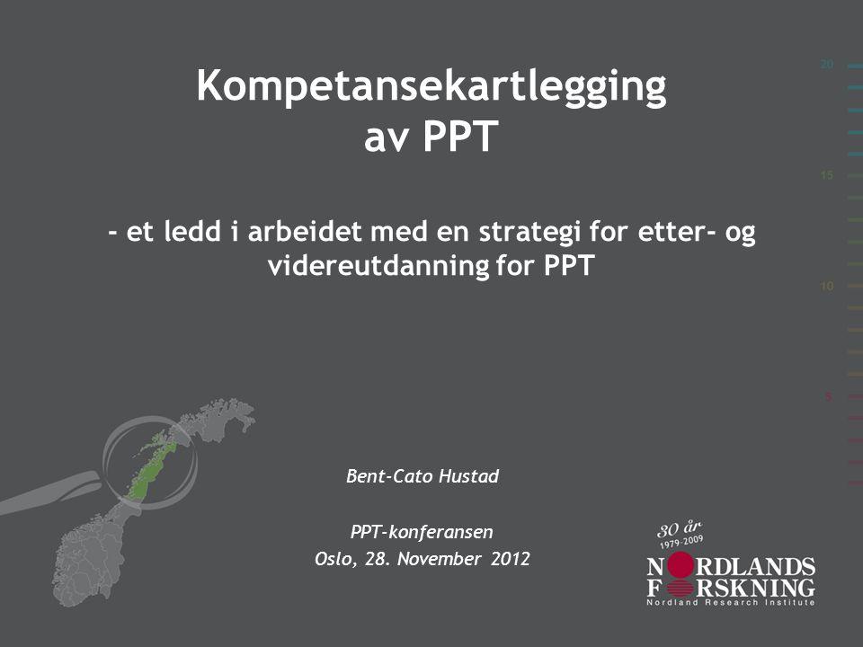 Bent-Cato Hustad PPT-konferansen Oslo, 28. November 2012