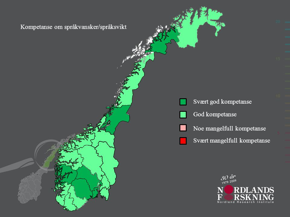 Kompetanse om språkvansker/språksvikt
