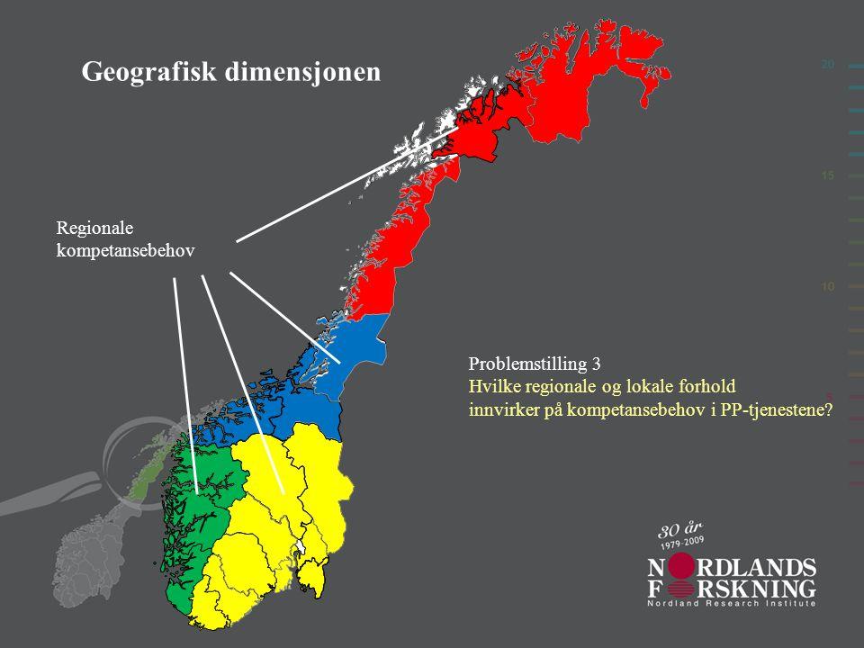 Geografisk dimensjonen