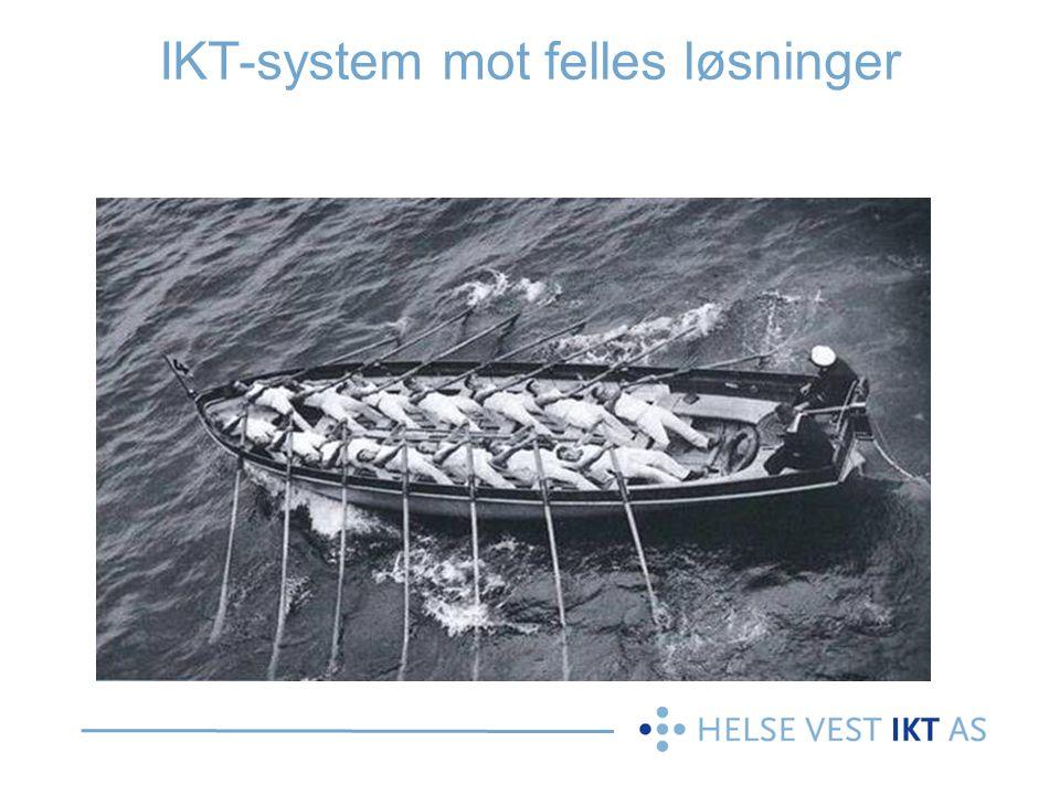 IKT-system mot felles løsninger