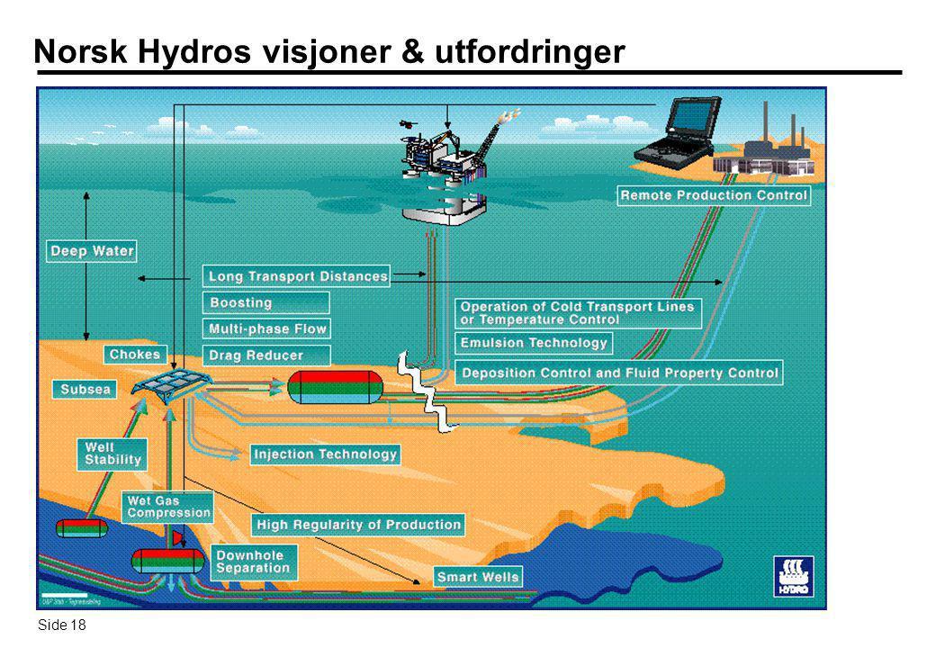 Norsk Hydros visjoner & utfordringer