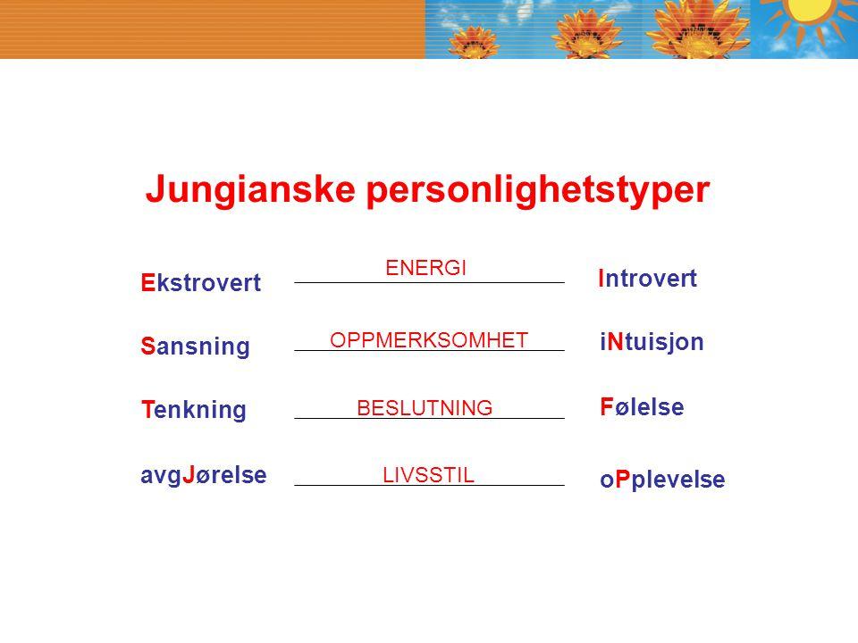 Jungianske personlighetstyper