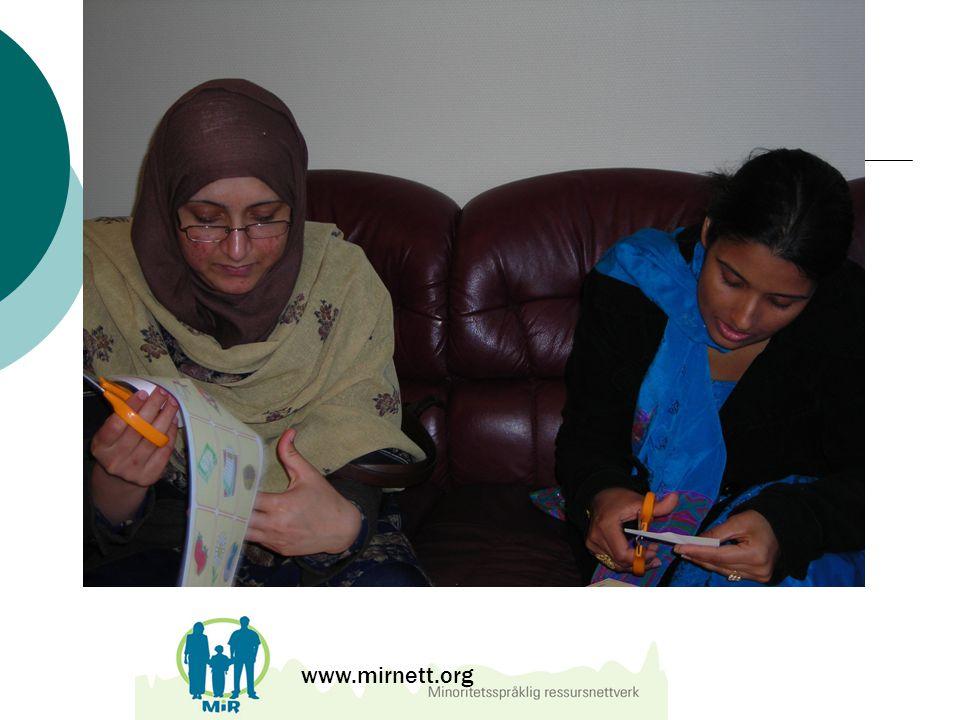 Eksempler på kurs www.mirnett.org