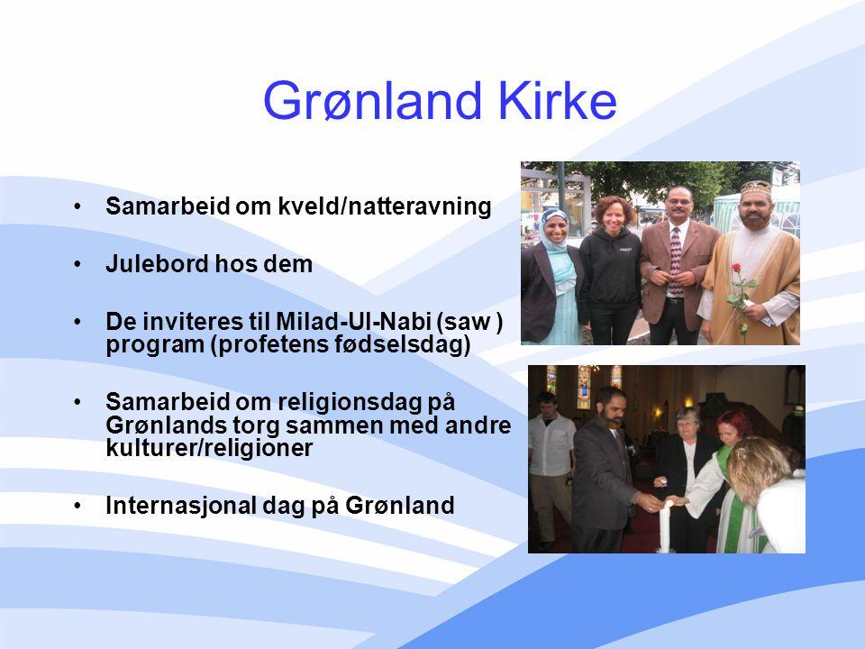 Grønland Kirke Samarbeid om kveld/natteravning Julebord hos dem