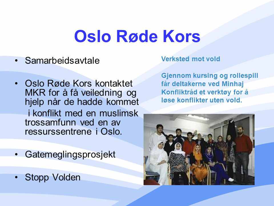 Oslo Røde Kors Samarbeidsavtale