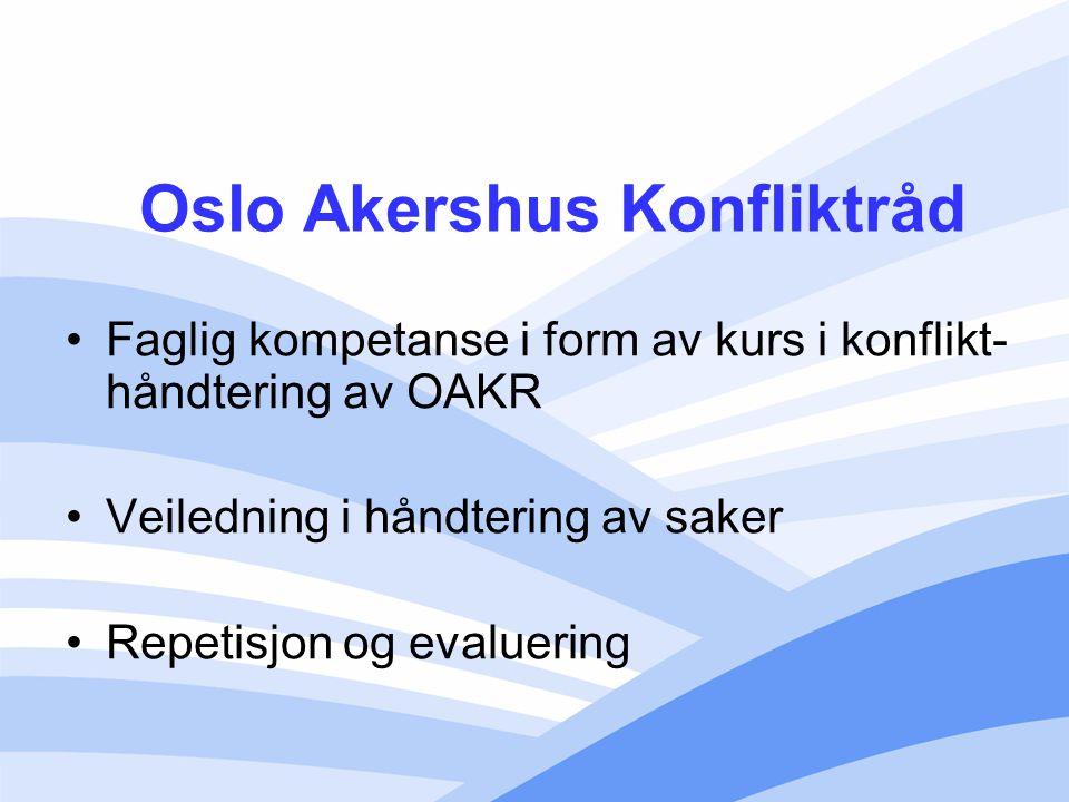 Oslo Akershus Konfliktråd