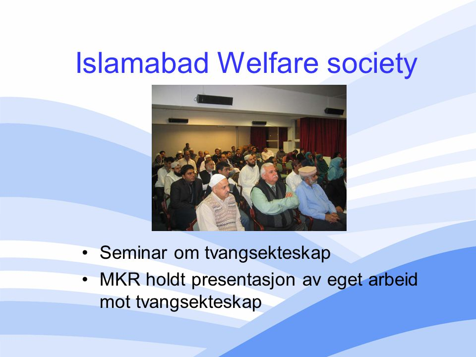 Islamabad Welfare society