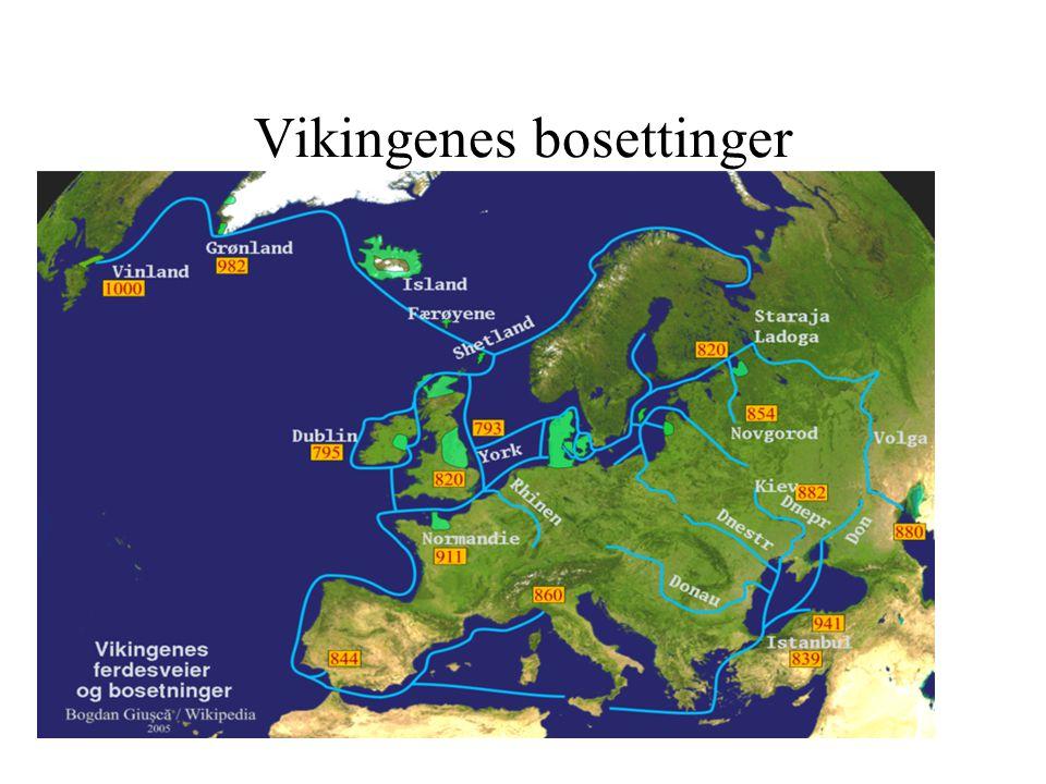 Vikingenes bosettinger