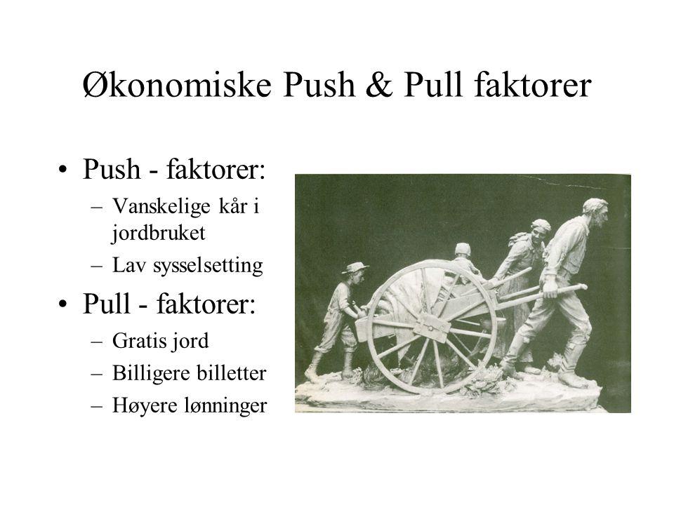 Økonomiske Push & Pull faktorer
