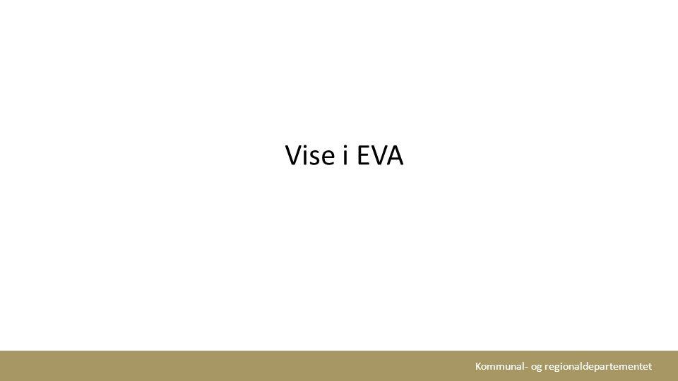 Vise i EVA Kapittel av vises gjennom konfigurasjon av styrer og medlemmer (A1) og konfigurasjon av stemmesteder på valgting (A2).