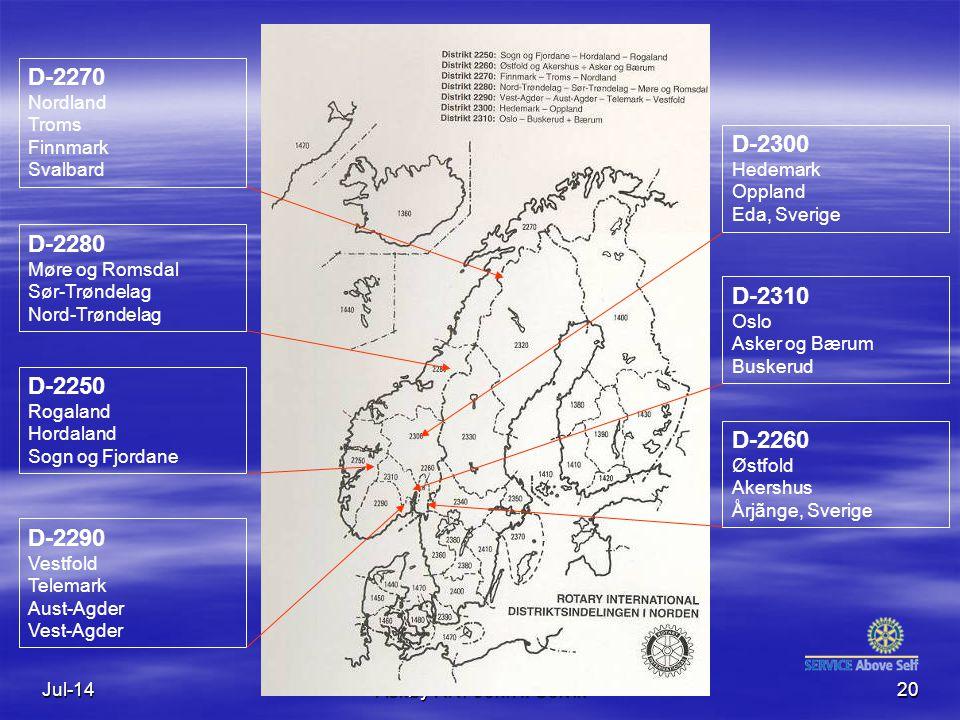 D-2270 Nordland Troms Finnmark Svalbard