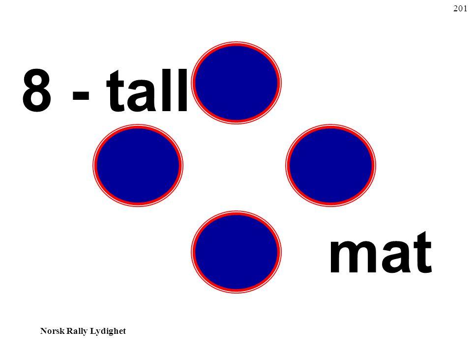 201 8 - tall mat