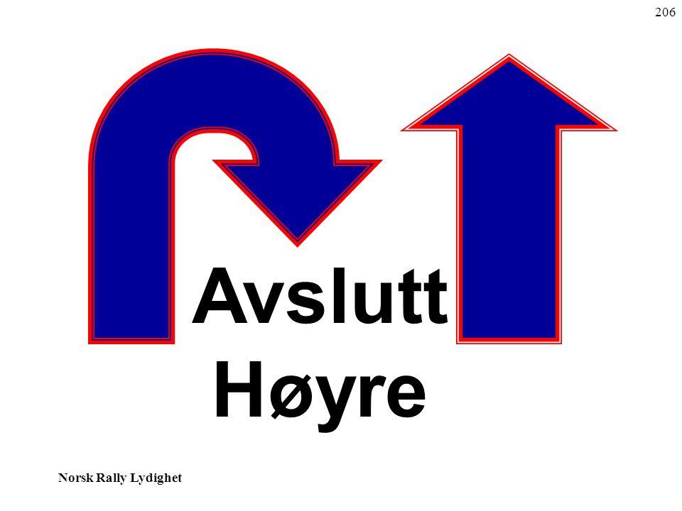 206 Avslutt Høyre