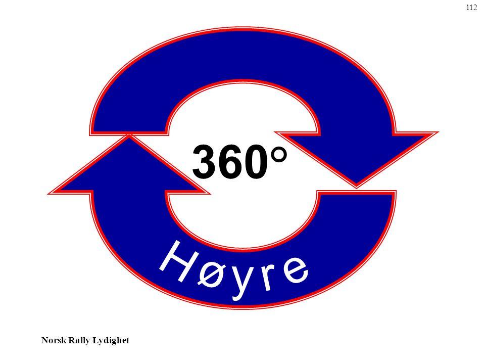 112 H ø y r e 360°