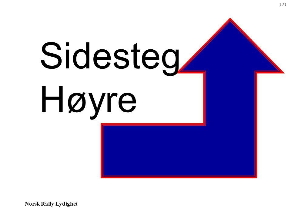 121 Sidesteg Høyre