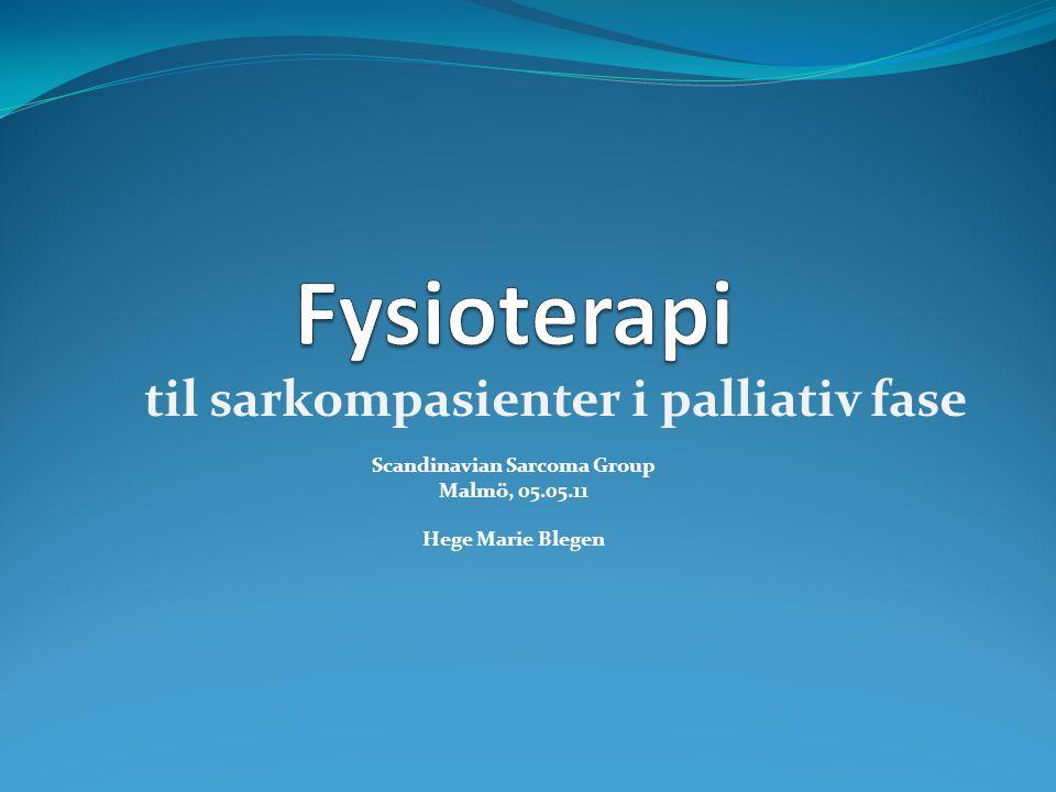 Scandinavian Sarcoma Group