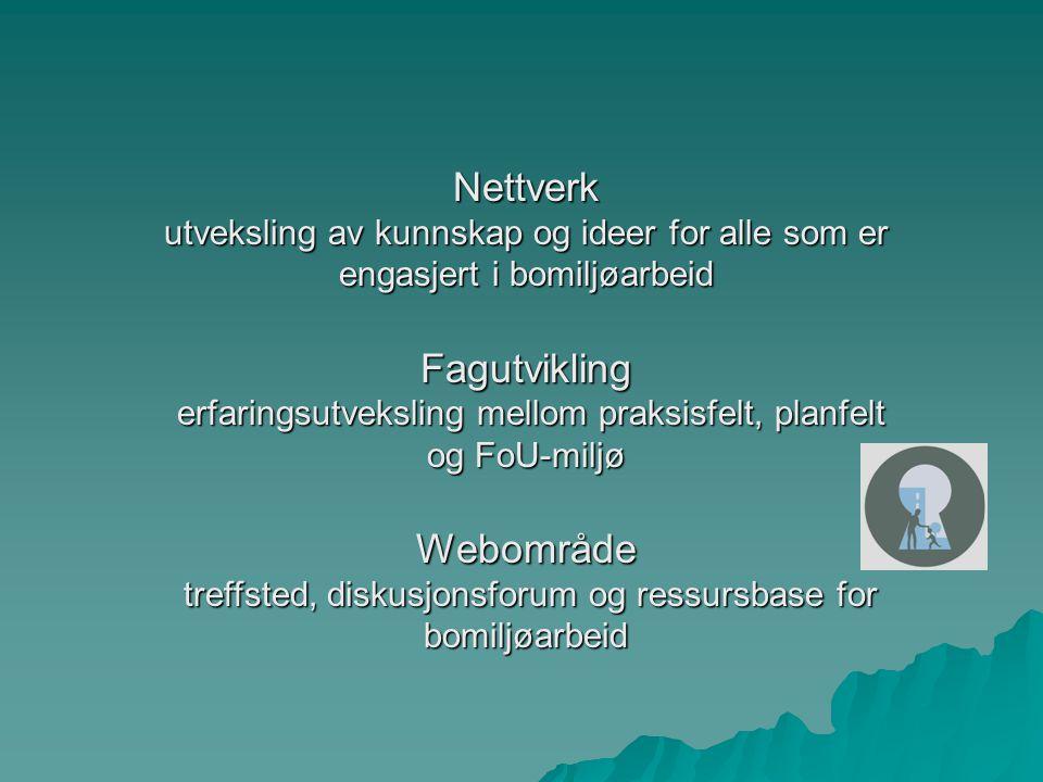 Nettverk Fagutvikling Webområde