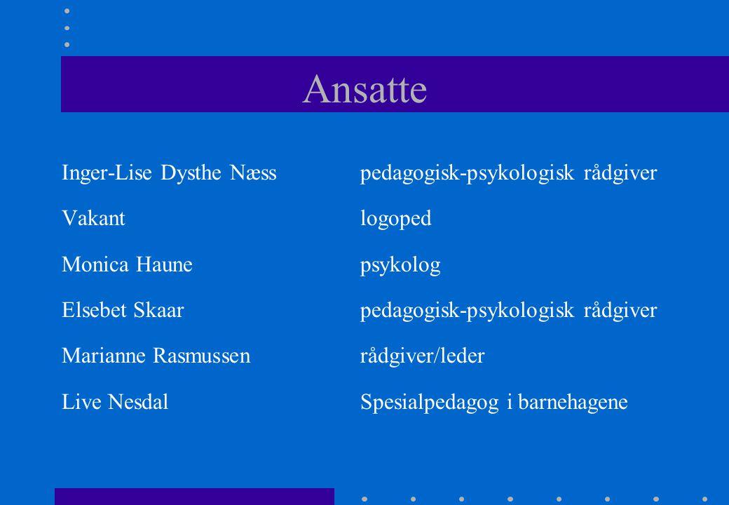 Ansatte Inger-Lise Dysthe Næss pedagogisk-psykologisk rådgiver
