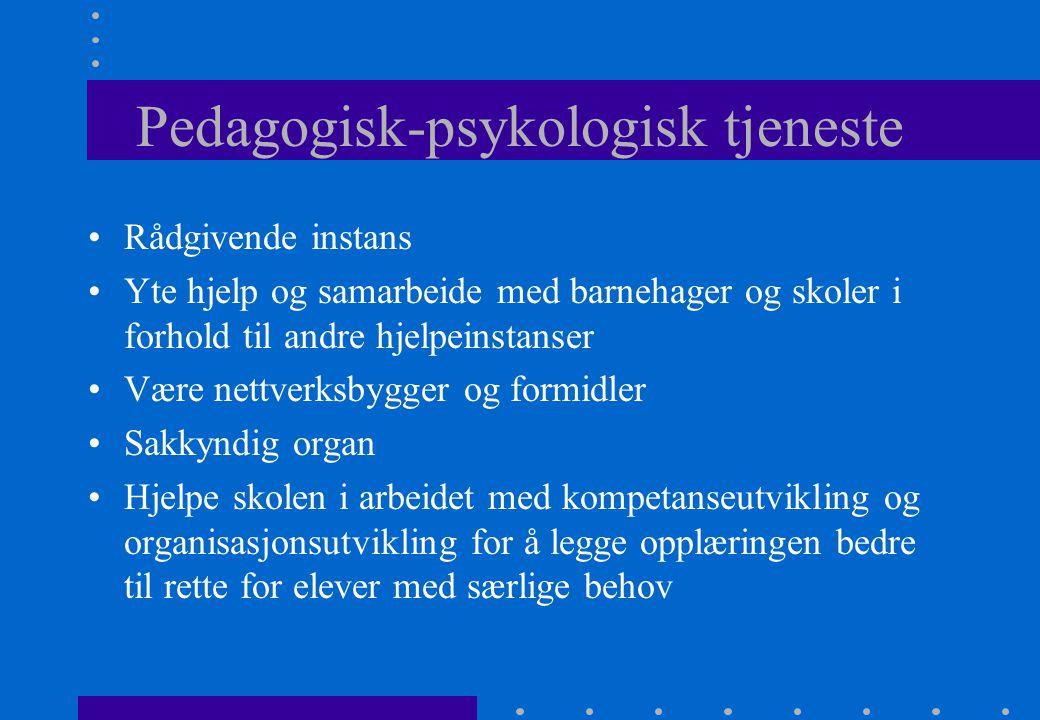 Pedagogisk-psykologisk tjeneste