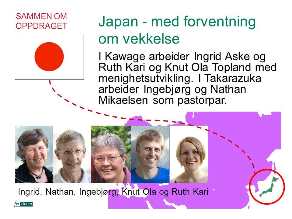 Japan - med forventning om vekkelse