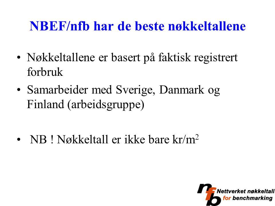 NBEF/nfb har de beste nøkkeltallene