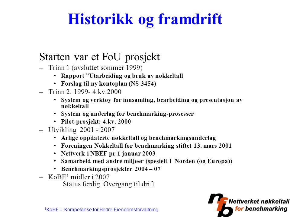 Historikk og framdrift