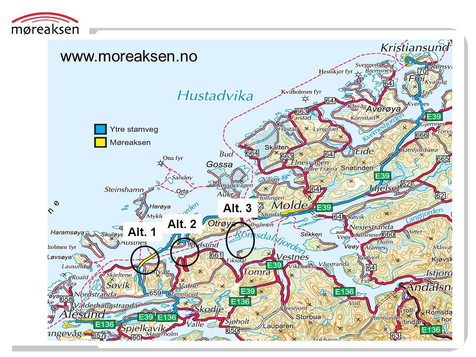 www.moreaksen.no Alt. 3 Alt. 2 Alt. 1