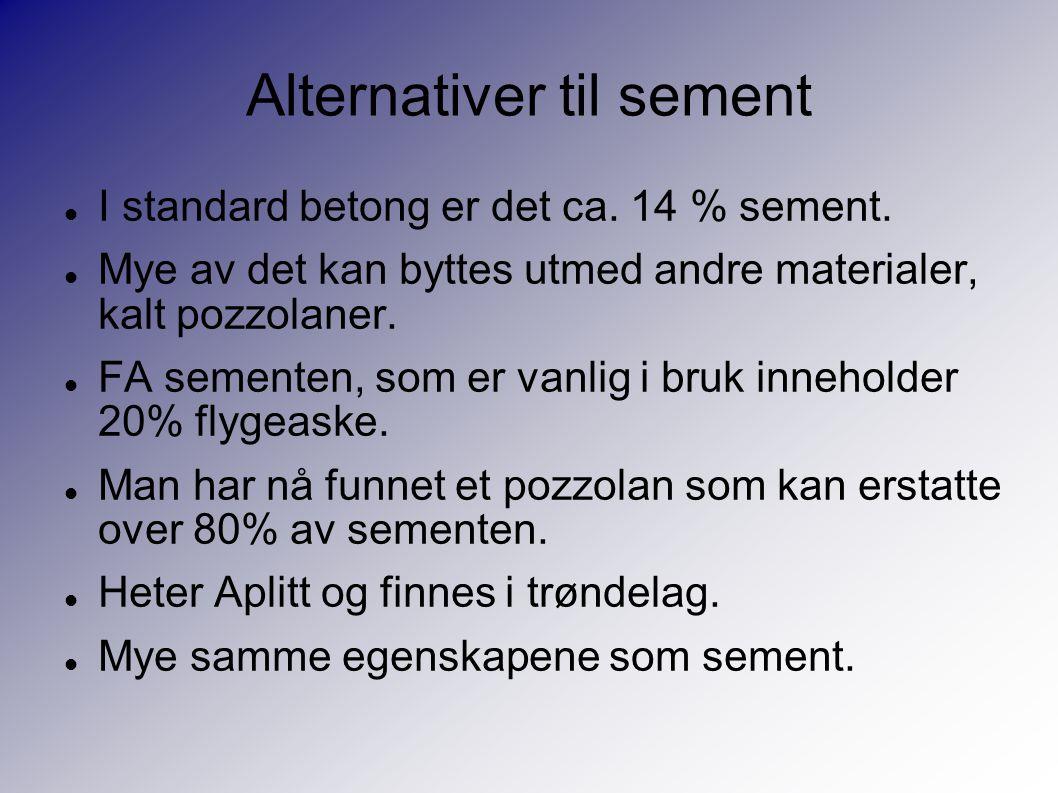 Alternativer til sement