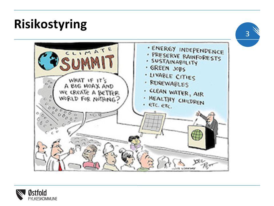 Risikostyring Den globale delen Hva er god risikostyring