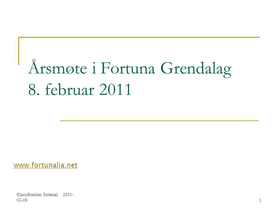 Årsmøte i Fortuna Grendalag 8. februar 2011