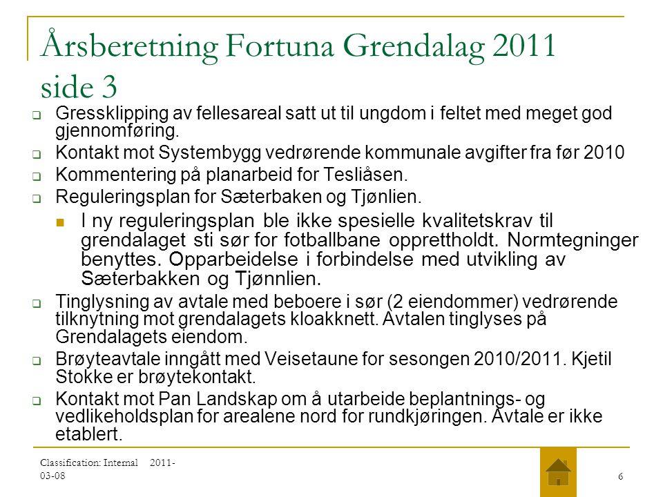 Årsberetning Fortuna Grendalag 2011 side 3