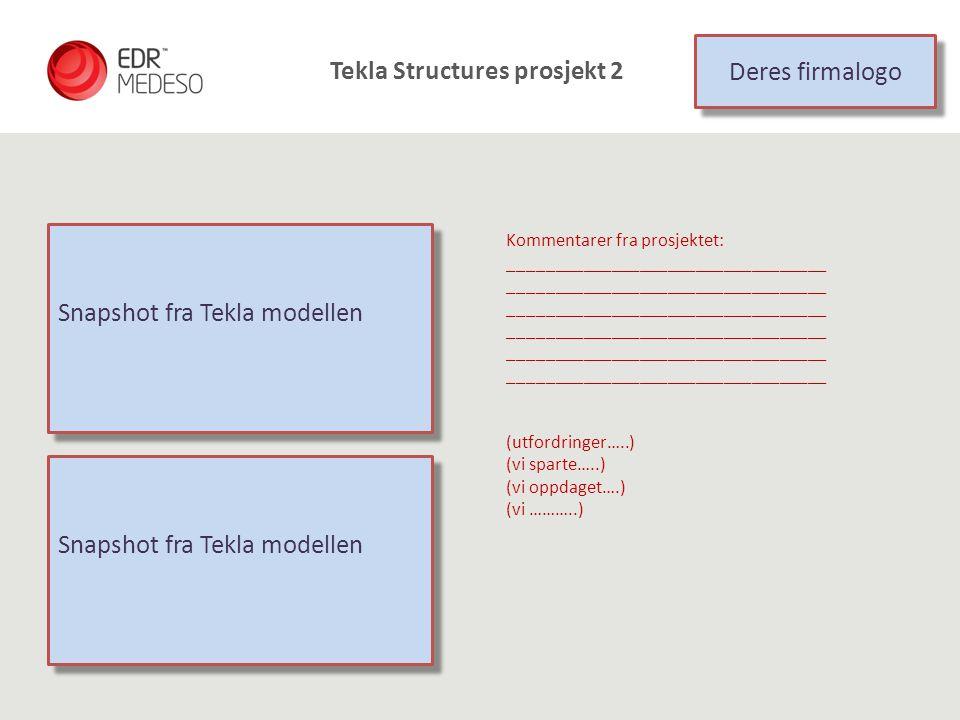Tekla Structures prosjekt 2