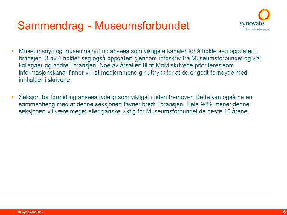 Sammendrag - Museumsnytt