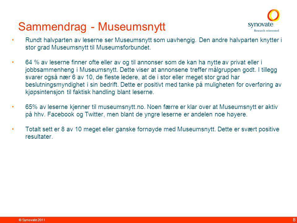 Resultater Museumsforbundet