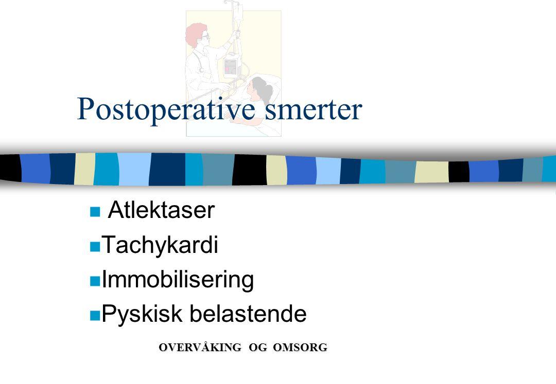 Postoperative smerter