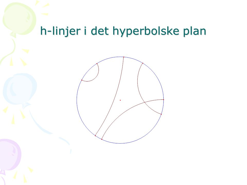 h-linjer i det hyperbolske plan