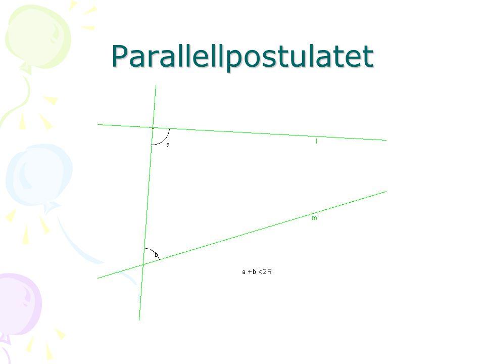 Parallellpostulatet